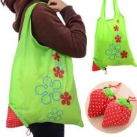 Tas Belanja Serbaguna Tas Lipat Strawberry Baggu Bag Bisa Jadi Besar