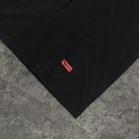 T-shirt SUPREME X HANES Tagless good material kaos (2nd original)