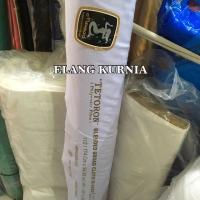 Tetoron Duyung, kain bahan seragam sekolah warna putih