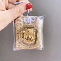Angpau Imlek Rat / Angpao Emas Gold 24K Gantungan Lucu Fortune Cat