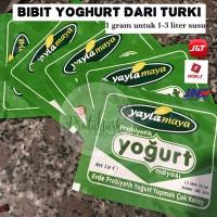 Bibit Yoghurt Turki biang yoghurt Turki 1 gram starter probiotik