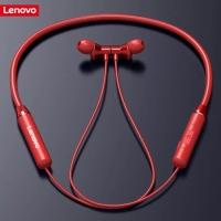 Headset Wirelles Lenovo HE05 Ori Sport Earphone Bluetooth 5.0 Magnetik