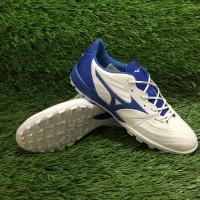 Sepatu Futsal Mizuno Rebula White / Blue TF