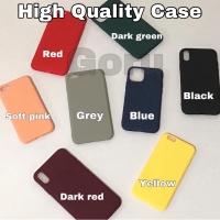 Silicon soft case iphone Slim 6 6s 7 8 plus X Xr Xs Max 11 11 pro Max