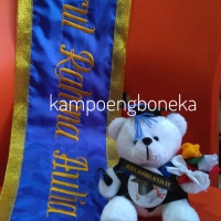 Boneka Wisuda + Selempang Wisuda Custom