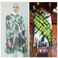 Niara Tunik Jumputan By Dian Pelangi Original Blouse Atasan Baju