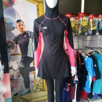 Baju renang specs original Mimosa hijab swimsuit Black Specs Active
