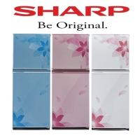 Kulkas Sharp sj236 md fp,Fb,fw 2 pintu original