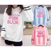 Baju Kaos Long Sleeve Hoodie BLACKPINK Kpop Best Seller Shirt 2056