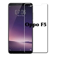 Tempered glass OPPO F5 bening clear kaca 9H antigores