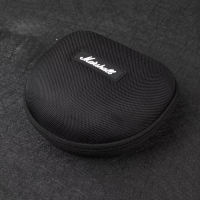 Box Marshall Major and Audio Technica Headphone earphone Warna Hitam