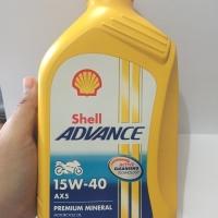 Oli motor Shell Helix AX5 15W-40 1L