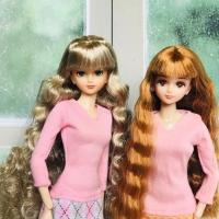 Baju boneka barbie doll mattel outfit casual dress gown poppy parker d