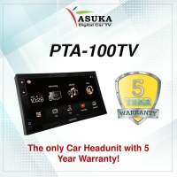Head Unit Asuka PTA-100/ Double Din Asuka PTA-100/TV ASUKA
