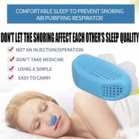 Alat dengkur anti snore for sleep (sleep apnea) bahan silikon
