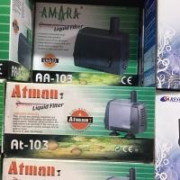 Pompa Air , Mesin Dorong Air Kolam Ikan hias Atman -at 103
