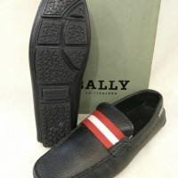 Sepatu Pria BALLY Kulit Asli