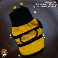 (B29)Baju anjing kucing bentuk lebah - kostum lebah for dog cat pet