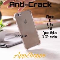 Anti Crack Case TPU iPhone 5 5s SE 6 6s 6Plus 6sPlus 7 7Plus