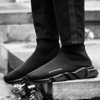Sepatu Balenciaga speed trainer full black