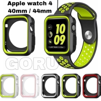 Case apple watch iwatch series 4 nike 40 44 mm soft rubber sport