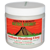 AZTEC - INDIAN HEALING CLAY - SHARE IN BOTTLE OF 100 GRAMS - USA