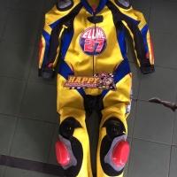 2nd 90% Wearpack baju balap anak custom umur 8-10th kuning by Ardians