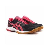 Sepatu Sneakers ASICS Gel Rocket 8 Black/ Rouge Red