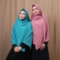 Jilbab Segi Empat Jumbo Syar i Bahan Wolfis Premium Ukuran 150x150