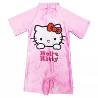 Baju renang one piece anak cewe lucu hello kitty hk import pink import