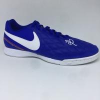 Sepatu futsal nike original Legend 7 Academy IC 10R blue white 2019