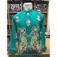 Kemeja Batik 120985 Hem Batik Baju Batik Pria Motif Dayak Kalimantan