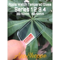 Apple Watch Series 1 2 3 4 Tempered Glass FULL TRANSPARENT Full Cover - 44mm