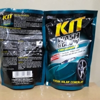 Kit Wash & Glow, Shampoo Cuci Mobil Kemasan Refill 400ML