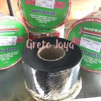 (1 Rol) Plakban Tambal Talang Asbes Atap Pipa Seng 10cm Super Band