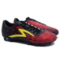 Sepatu bola Specs Swervo Dynamite FG black emperor red original