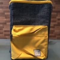 VISVAL Tas Ransel /Yellow /NEW