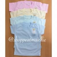 FLUFFY - Size 2 (18-24 Bulan) Baju Oblong Bayi & Anak Polos Warna Rib