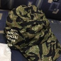 ASSC LUCID GREEN HOODIE + ASSC TIGER CAMO CAP