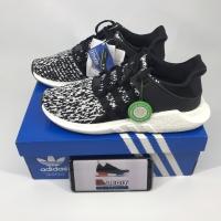 Sepatu adidas original eqt support adv pk boost black white 93/17