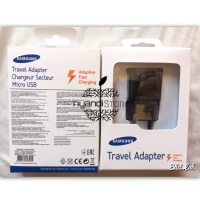 Adaptor Kepala Charger Samsung Fast Charging Original Note 4 S8 Black
