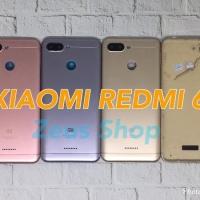 Backdoor Tutupan Baterai Back Casing Xiaomi Redmi 6 Single Sim
