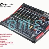 Mixer Profesional 8 Chanel ASHLEY LM8. LM-8 ORIGINAL