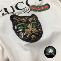 Kaos anak Gucci premium import / T-Shirt Gucci