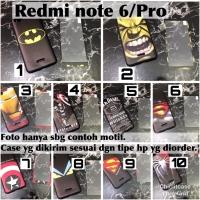Softcase man case 360 xiaomi redmi note 6 pro superhero marvel avenger