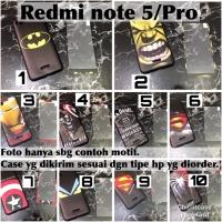 Softcase man case 360 xiaomi redmi note 5 pro avengers marvel hulk