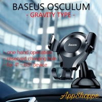 Baseus Osculum Type Gravity Universal Stand Car Mount Handphone Holder