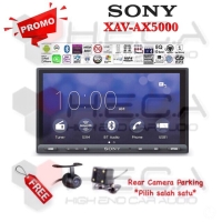 Sony XAV-AX5000 Head Unit Tape Mobil Double din Audio + Rear Camera