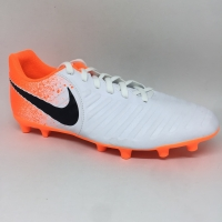 Sepatu bola nike Tiempo legend 7 club MG white orange new 2019