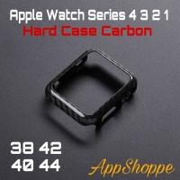 Apple Watch Series 4 Carbon Fiber Texture Bumper Case 40mm 44mm